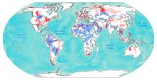 Shale Transboundary Aquifers Map