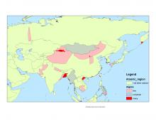 Arsenic in groundwater in Asia