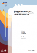 Fluoride in Groundwater: Probability of occurrence of excessive concentration on global scale