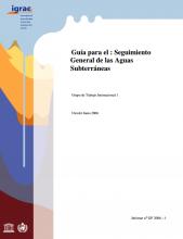 Guía para el : Seguimiento General de las Aguas Subterráneas