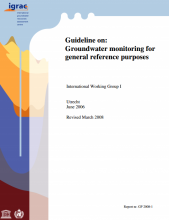 Guideline on: Groundwater monitoring for general reference purposes